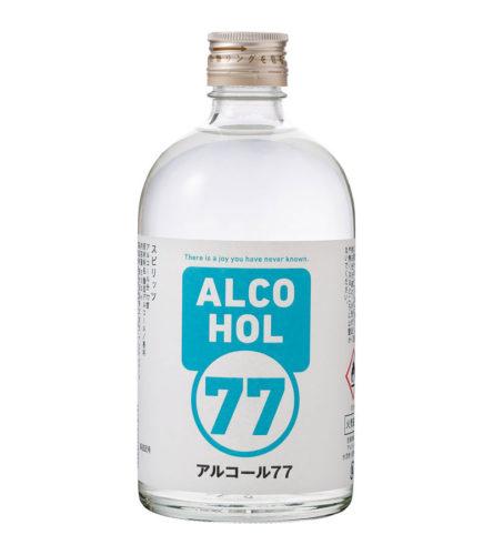 アルコール度数77度のスピリッツ
