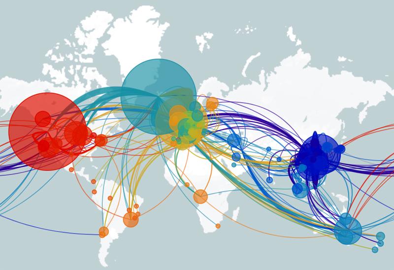 世界に広がる新型コロナウイルス